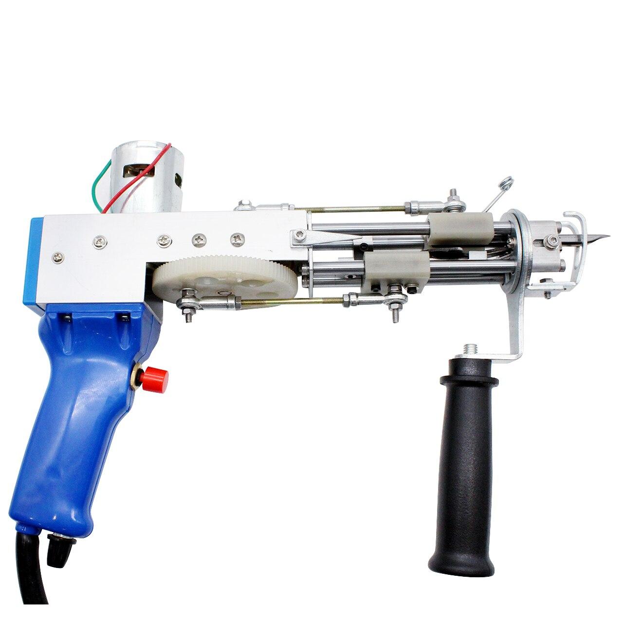 Electric carpet tufting gun hand gun Carpet weaving flocking machines Loop Pile TD-02 enlarge