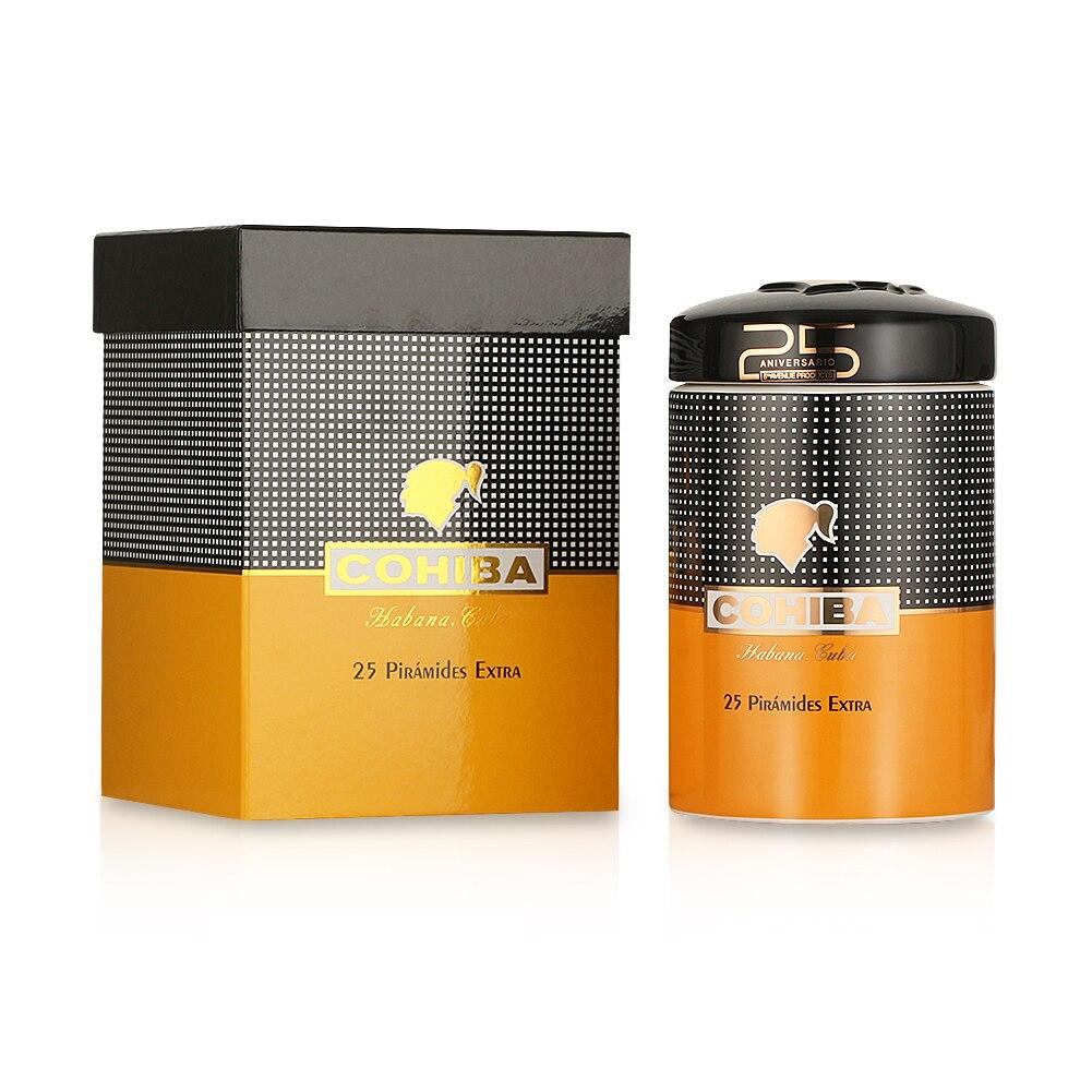 COHIBA Ceramic Cigar Humidor Tobacco Store Cigar Jar Home Humidor Box Cigar Tube For Cigars W/ Humidifier Bag enlarge