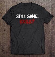 Hommes t-shirt drôle mode t-shirt encore sain desprit exil chemin de lexil femmes t-shirt