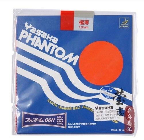 Original yasaka phantom 0011 B-38 tênis de mesa borracha espinhas longas raquetes de tênis de mesa esportes internos