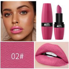 5 Colors Liquid Lipstick Long Lasting Semi-matte Texture Lip Stick Cross-border Waterproof Sexy Lip