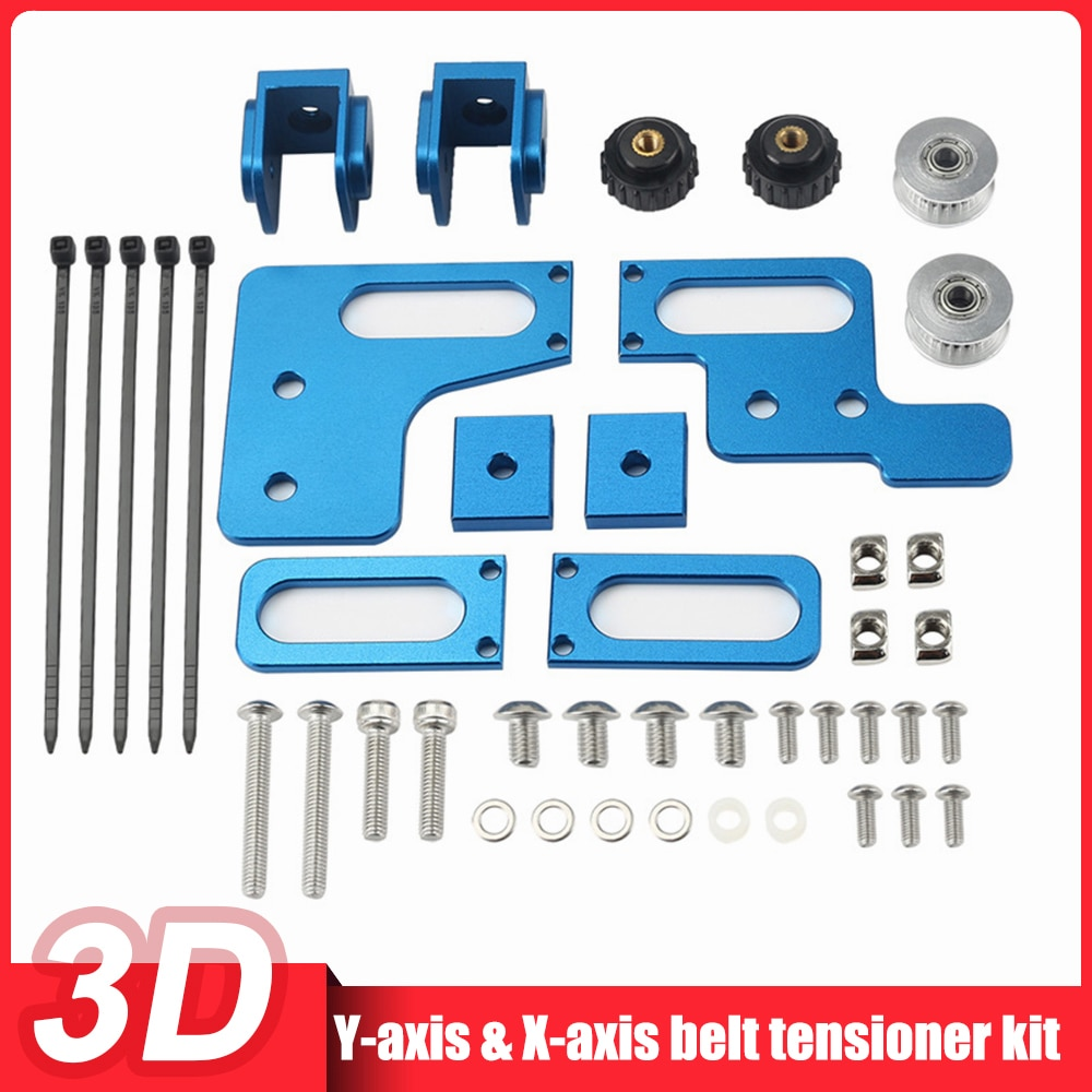 Brand New Upgrade X-Axis Y-Axis Synchronous Belt Stretch Straighten Tensioner For Artillery Genius 3D Printer Parts