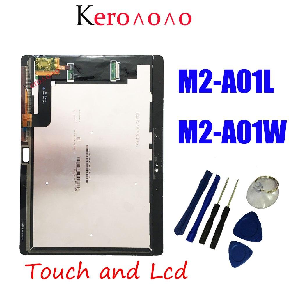 Для HUAWEI MediaPad M2 10,0 10,1 дюйма M2-A01L M2-A01W ЖК-дисплей и с сенсорным экраном дигитайзер в сборе