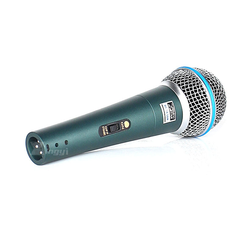 2Pcs Professional Switch Handheld Mic Vocal Dynamic Microphone For BETA 58A BETA58A Music Player Sing Recorder KTV DJ Controller enlarge