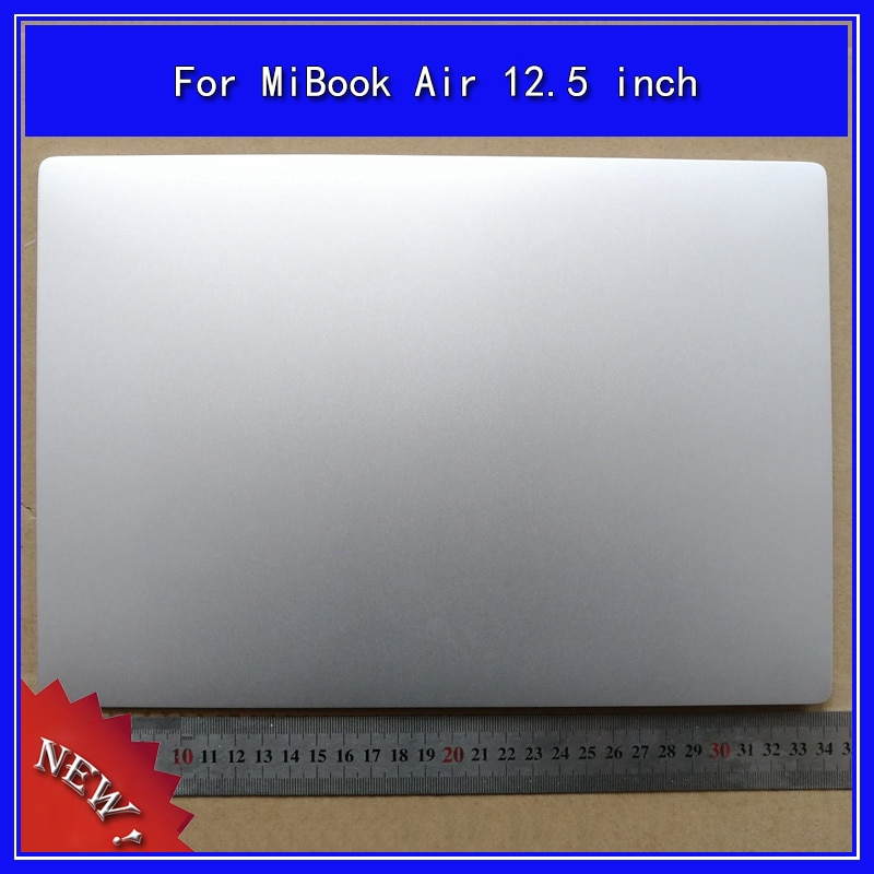 الكمبيوتر المحمول LCD الغطاء الخلفي أعلى حالة ل xiaomi MiBook الهواء 12.5 بوصة قذيفة
