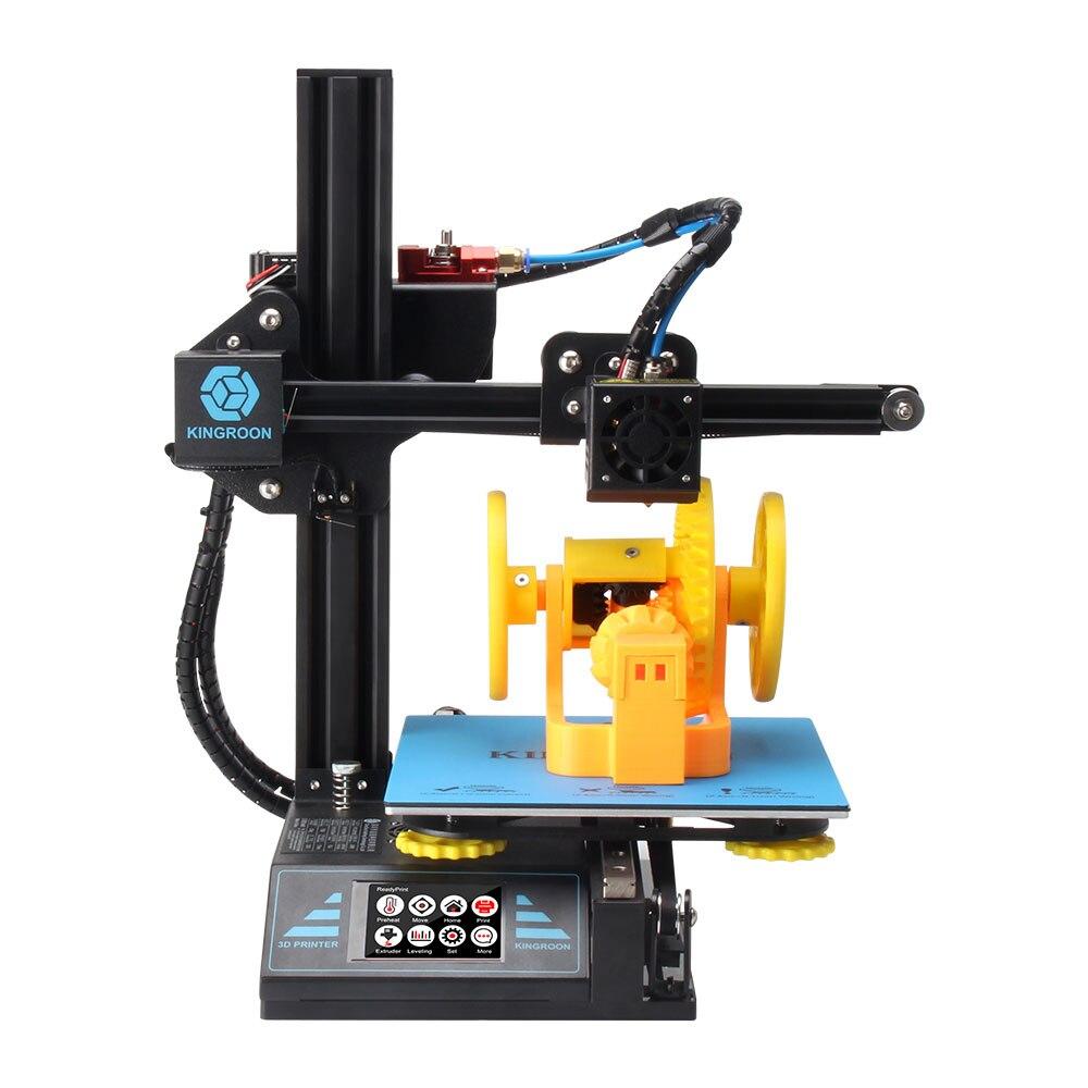 Impresora 3D KingRoon KP3, pantalla táctil de alta precisión DIY, kit de impresora 3D, retomar la impresión de fallas de potencia impressora 3d 180*180*180MM