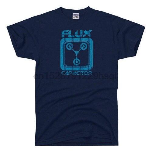 Camiseta de película Vintage de los años 80 de disfraz de volver al futuro condensador de flujo