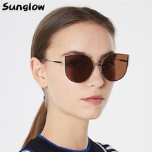 Sunglow Luxury Sunglasses Women 2021,Fashionable Vintag Gesigner Shade,Steampunk Driving Glasses,Hig