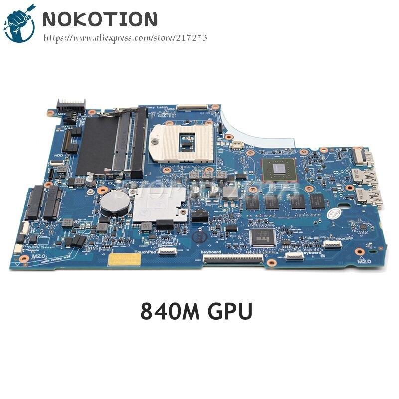 NOKOTION 749753-501 749753-001 6050A2548101-MB-A01 для Hp Envy 15 15T-J000 15T-J100 материнская плата для ноутбука GeForce 840M graphics