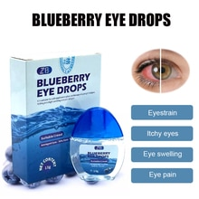 Blueberry Eye Drop Relieves Red Eyes Discomfort Blurred Vision Dry Itchy Eyes Clean Detox Care Dress