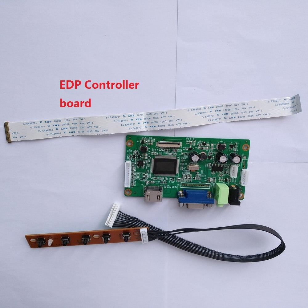 ل B140XTN02.D رصد عدة VGA المراقب المجلس شاشة عرض DIY 30Pin سائق 1366 × 768 LCD EDP 14