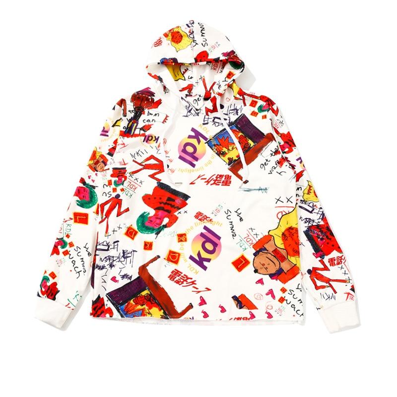 2020 Unicorn Kpop Sweatshirt Women Cotton Feminino Panda New Street Style Long-sleeved Print Sweatershirt Loose Comics Hooded
