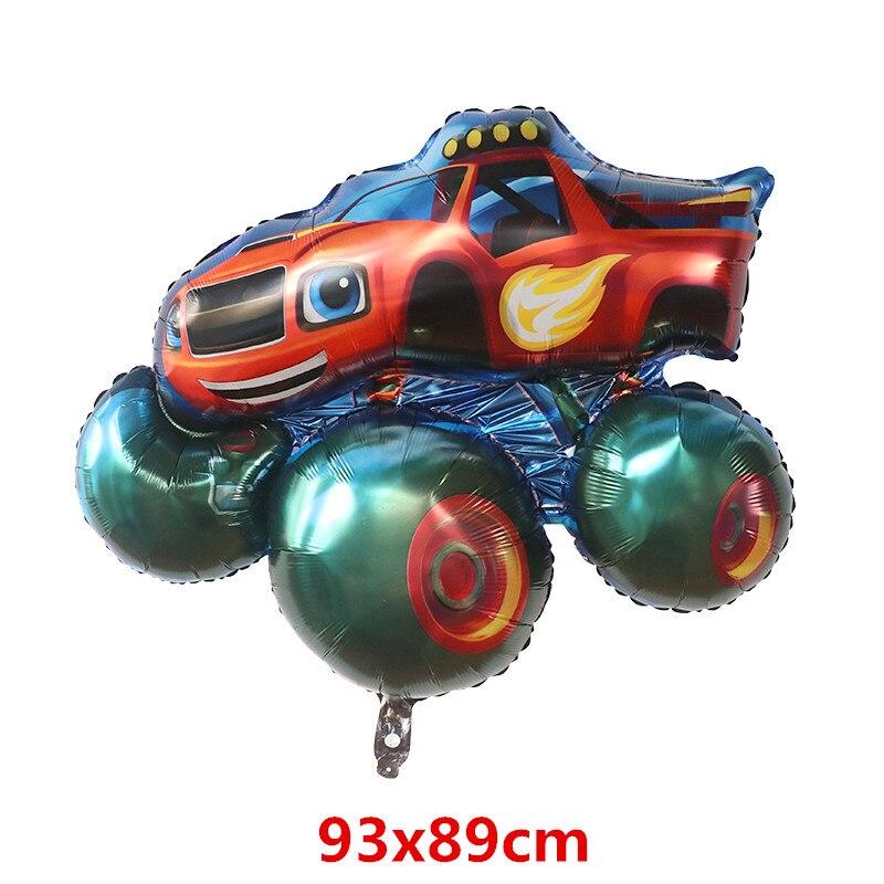 10 قطعة كبيرة الحجم سيارة احباط بالونات الهيليوم موضوع عيد ميلاد ديكور حفلات الاطفال نفخ اللعب استحمام الطفل لوازم الهواء Globos