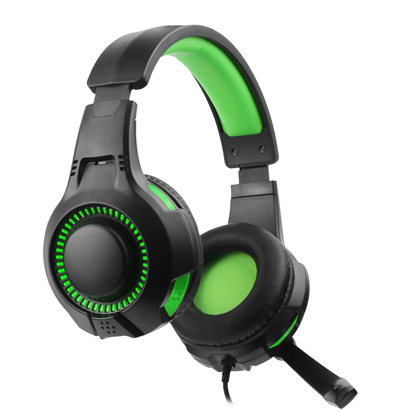 USB RGB light Gaming Headset Headphones with Microphone for PC Computer for Xbox One Professional Gamer Surround Sound RGB Light enlarge
