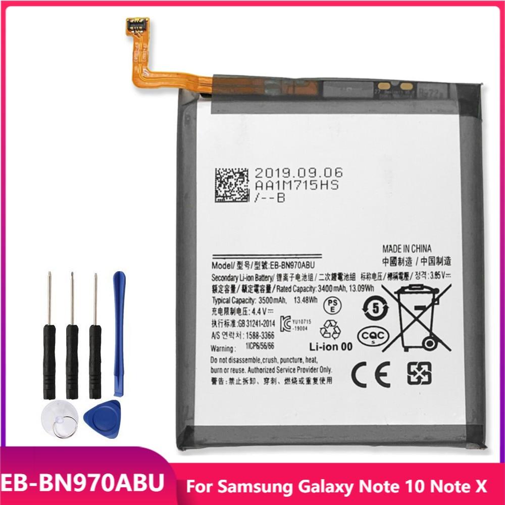 Оригинальная Аккумуляторная батарея для телефона Samsung Galaxy Note 10 Note X Note10, сменные аккумуляторные батареи 3500 мАч