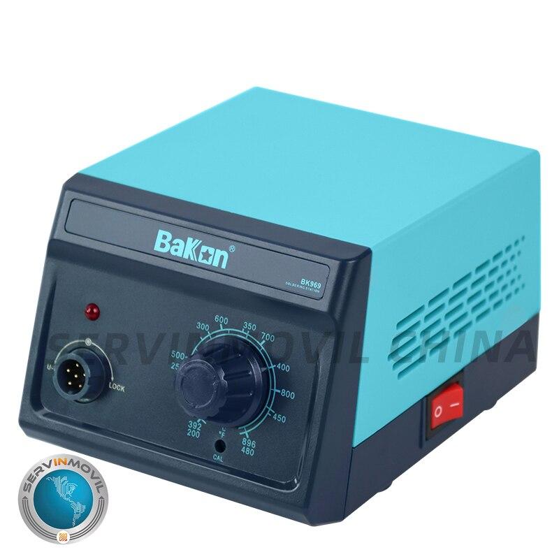 Bakon BK969 70W Professional Knob Thermostat Rework Solder Welding Soldering Station enlarge