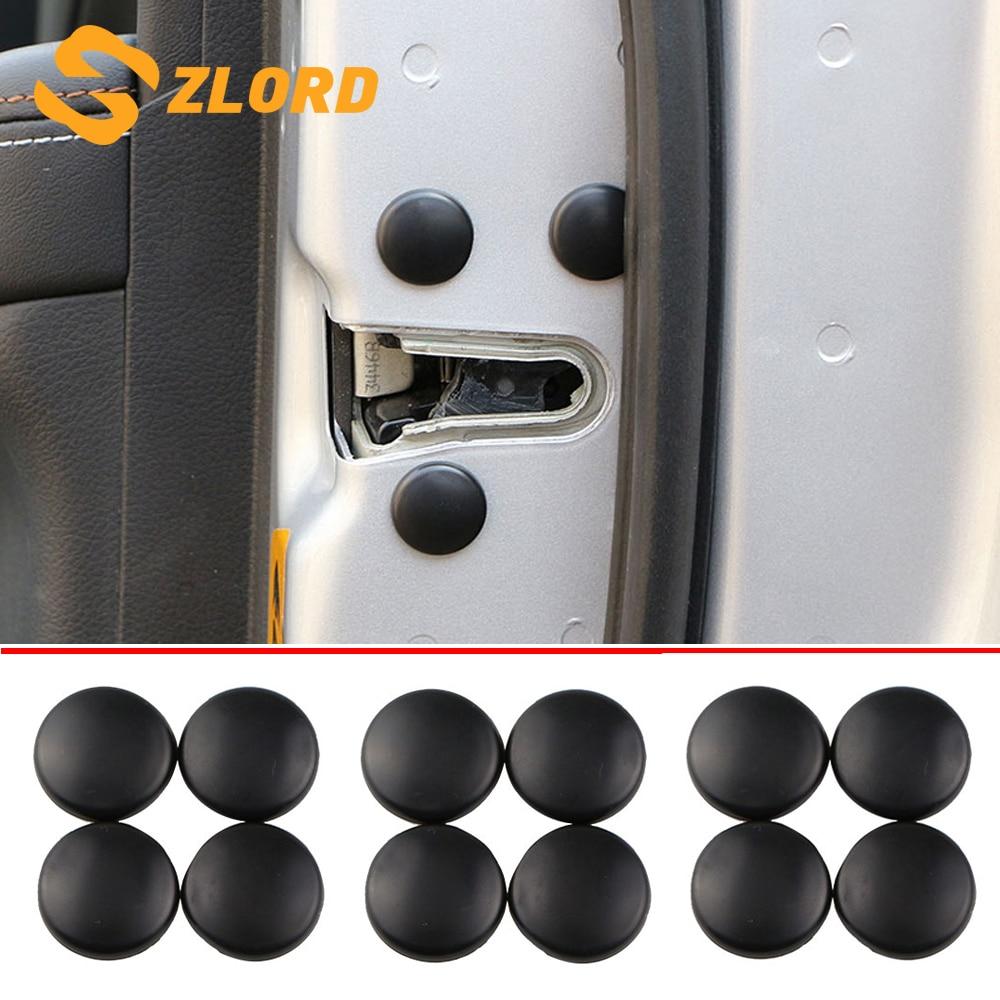 Zlord Car Door Screw Protection Cover for Ford Mondeo/Focus/Fiesta/Kuga/Escort/Taurus/EcoSport/Mustang/S-Max/Edge Ranger