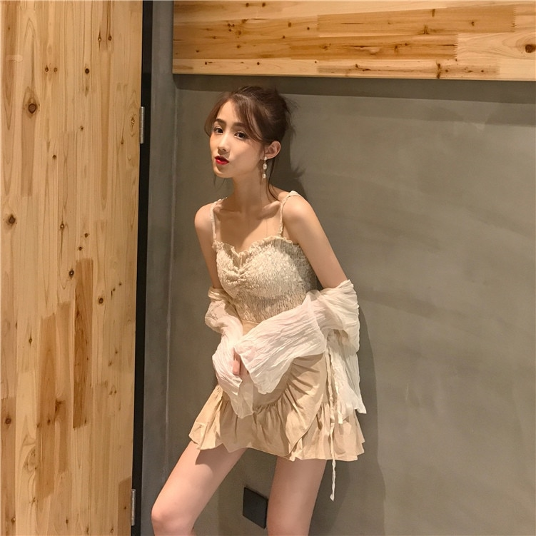 Xuan Ya Autumn and Winter Internet Celebrity Two Or Three Pieces in a Set Women's Western Style Sexy