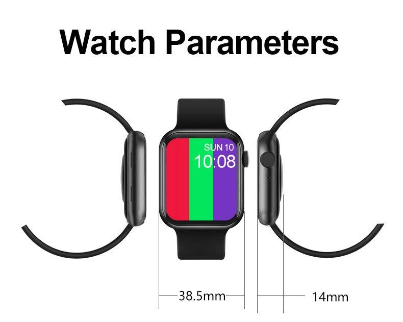 "H5aa86bd4893e42cbaa15c5d0ded97d78p 2021 IWO 13 MAX Smart Watch T500+ plus 1.75""HD Bluetooth Calls Custom Wallpaper Heart Rate Monitor Sport Smartwatch PK W46 W26"