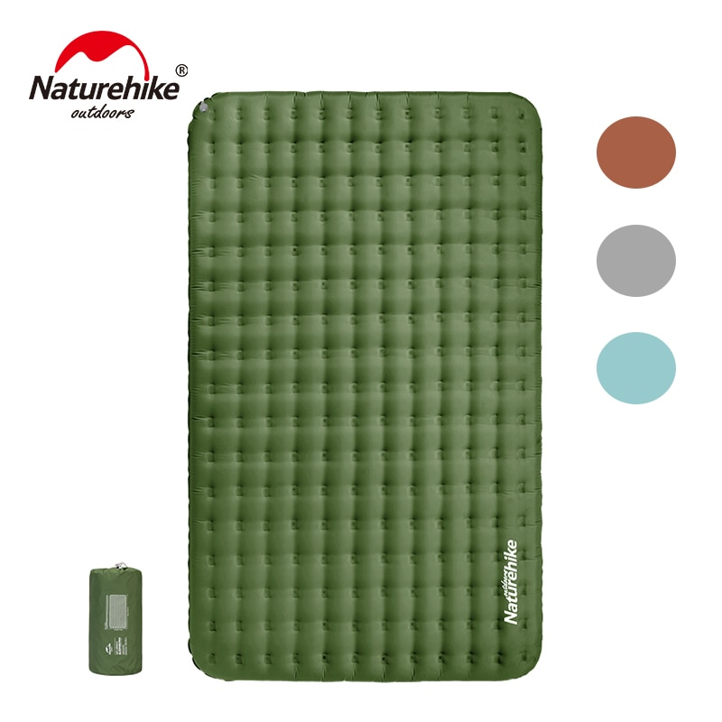 Naturehike 2 Person Lightweight Air Mattresses TPU 13cm Thickened Double Inflatable Mattress Portable Waterproof Camping Mat
