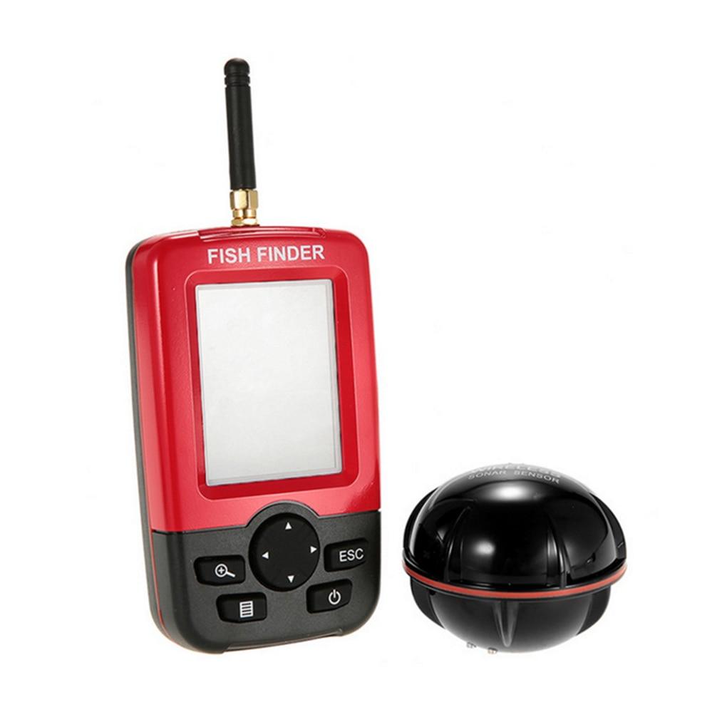 Fish Finder Outdoor Fishing Wireless Sensor Fish Finder Water Temperature Large Screen Digital Display Detector Fishing Tools enlarge