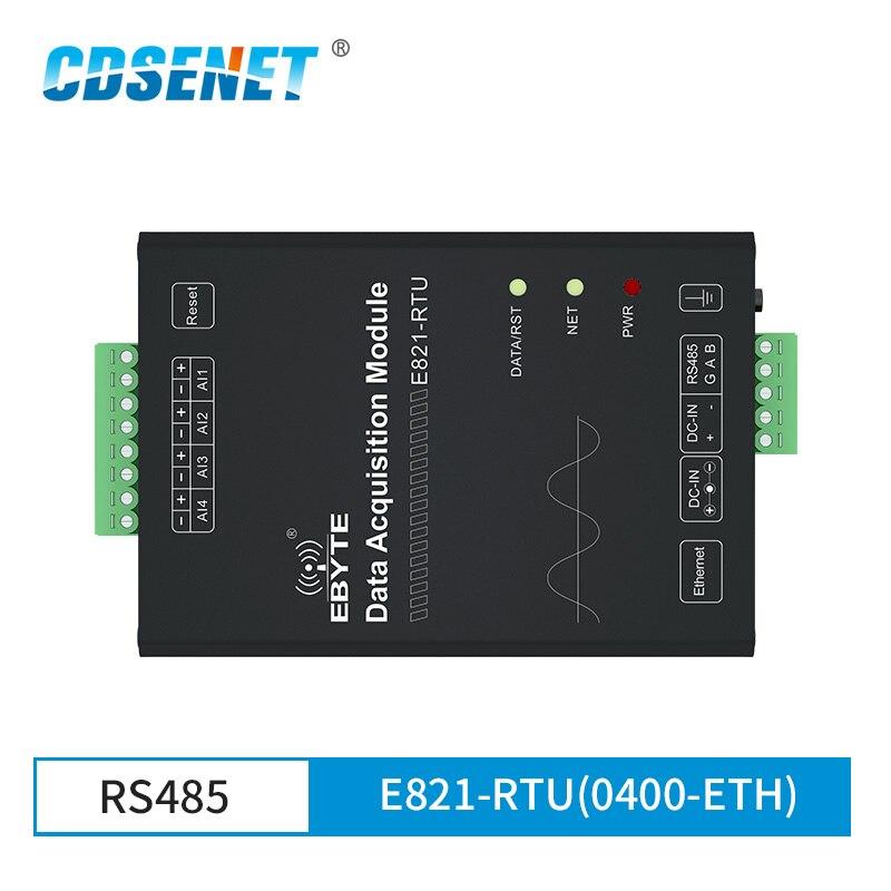 E821-RTU(0400-ETH) Digital 4 Channel Input Modbus TCP RTU Wireless Transparent Transceiver Modem with Ethernet port