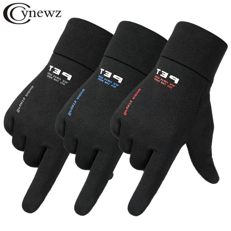 Перчатки мужские ветрозащитные, Нескользящие, для сноуборда и сенсорных экранов, теплые дышащие, для езды на мотоцикле, на весну|Мужские перчатки|   | АлиЭкспресс