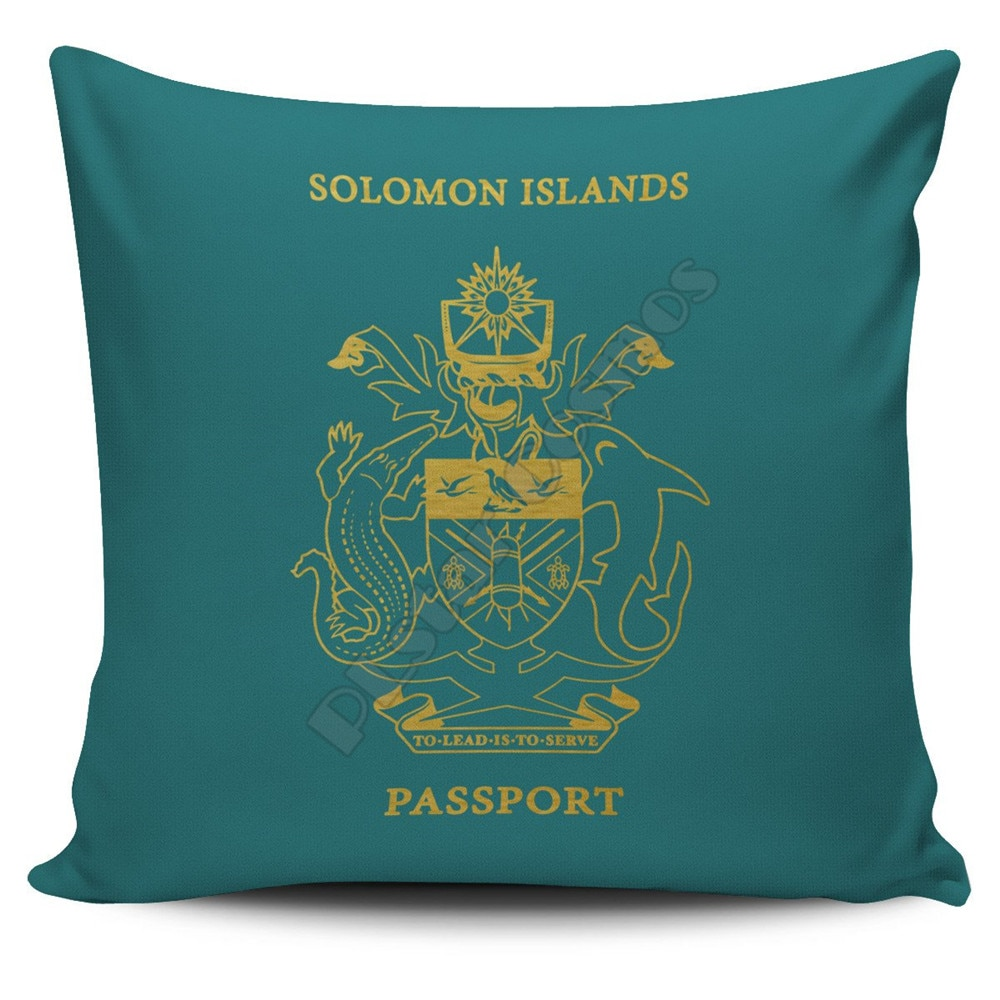 The Northern Mariana Islands Pillow Cover Passport Version Pillowcases Throw Pillow Cover Home Decoration  - buy with discount