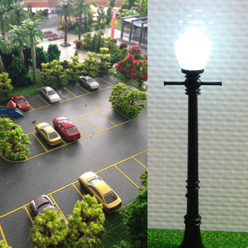 20Pc lampes de lampadaire de jardin modèle bâtiment sable Table matériaux Scence Simulation K92D