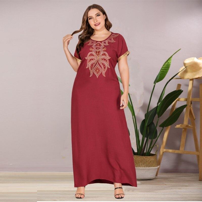 Summer African Maxi Dresses For Women 2020 Dashiki Diamond African Clothes Bazin Broder Riche Sexy Slim Robe Evening Long Dress