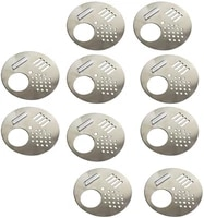 10pcs round metal beehive box door entrance gate disc stainless steel beekeeping nest equipment prevent anti escape bees tools