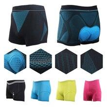 2020 Unisex Bicycle Cycling Pants Solid Cosplay Comfortable Underwear Sponge Gel 3D Padded Bike Shor
