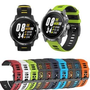 Silicone Correa Wrist Band for COROS APEX Pro / APEX46mm /APEX 42mm Strap Watchband For COROS PACE 2 PACE2 Bracelet ремешок