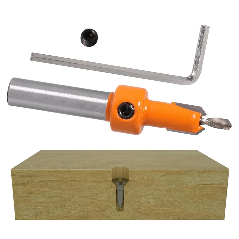 1 vnt. 8 mm koto HSS medienos frezavimo frezos antgalių rinkinys - Grąžtas - Nuotrauka 6