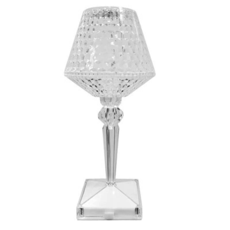 New USB Touch Imitation Diamond Table Lamp LED Acrylic High Quality High Transmittance Night Light Bar Table Decoration Light