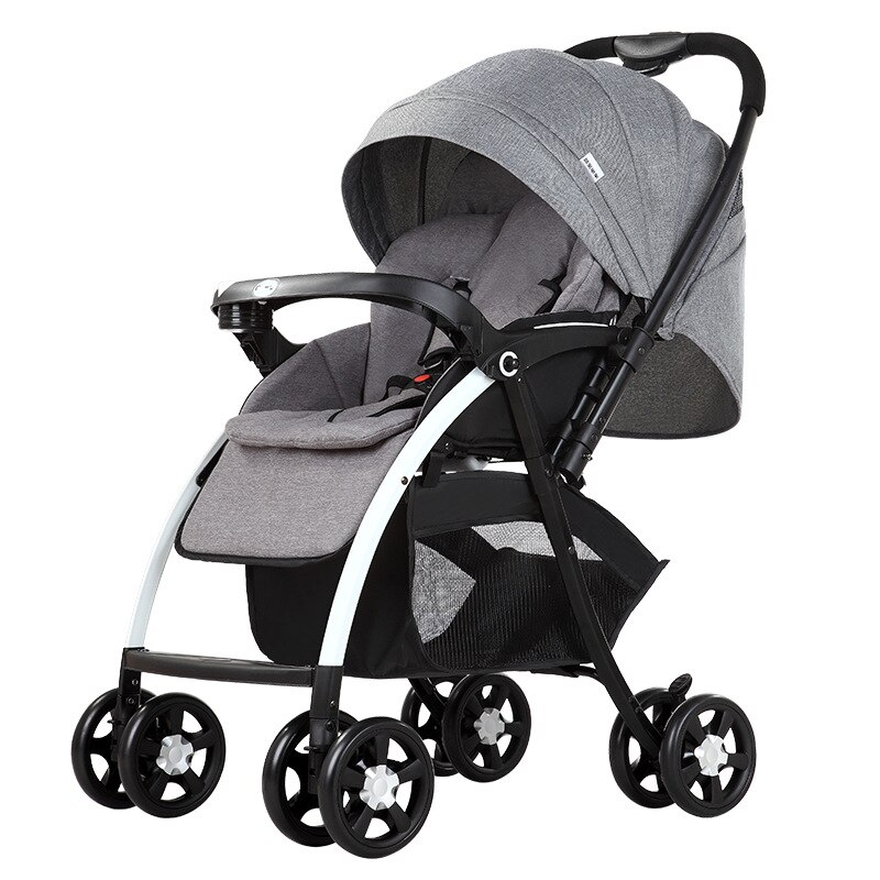 New upgrade baby stroller stroller baby stroller foldable light available in all seasons high landscape enlarge