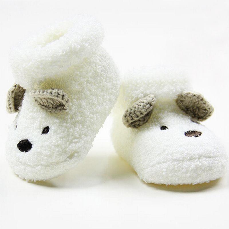 Теплые носки для мальчиков и девочек, теплые носки для новорожденных