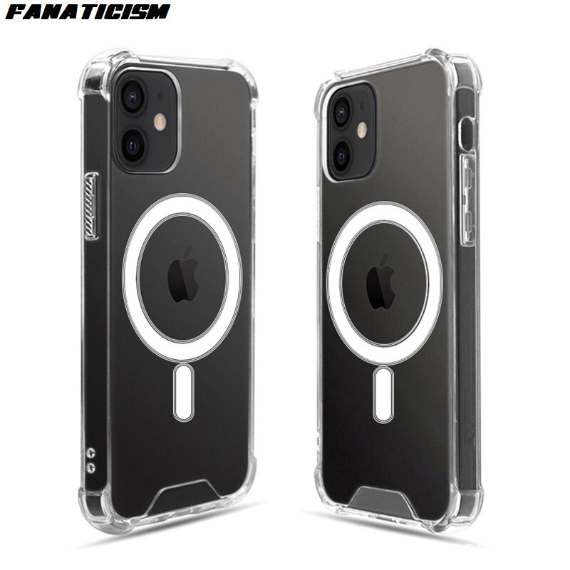 Magsafe-جراب سيليكون مغناطيسي لهاتف iphone 12 pro ، جراب فاخر مقاوم للصدمات لهاتف iphone 12 Pro Max 12 ، 200 قطعة