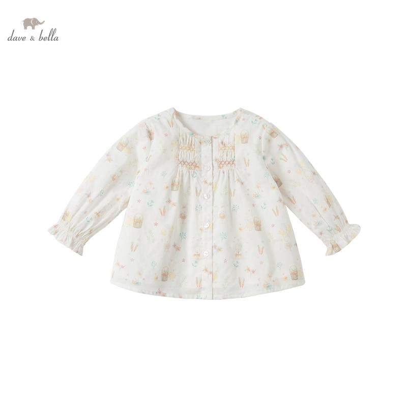 DBS16250, демисезонная Модная рубашка с мультяшным принтом для маленьких девочек, топы для малышей, детская одежда высокого качества|Блузки и рубашки| | АлиЭкспресс