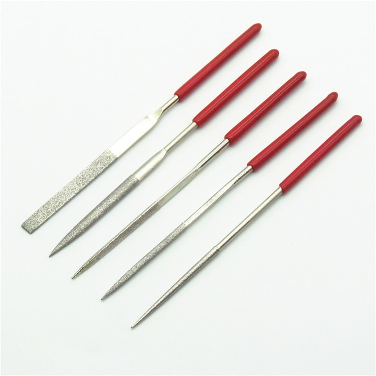 Model tool polishing file Carved oil hand DIY model polishing file rasper 5 piece set