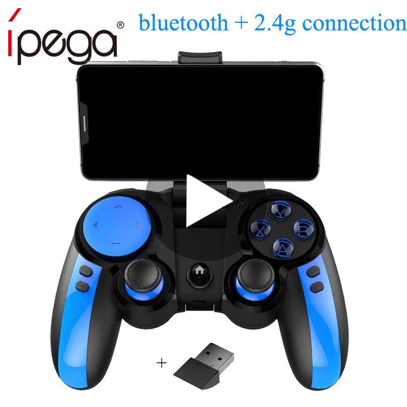 Ipega-Mando para móvil, Android, iPhone, PC, TV Box, Pubg, 9090 PG-9090