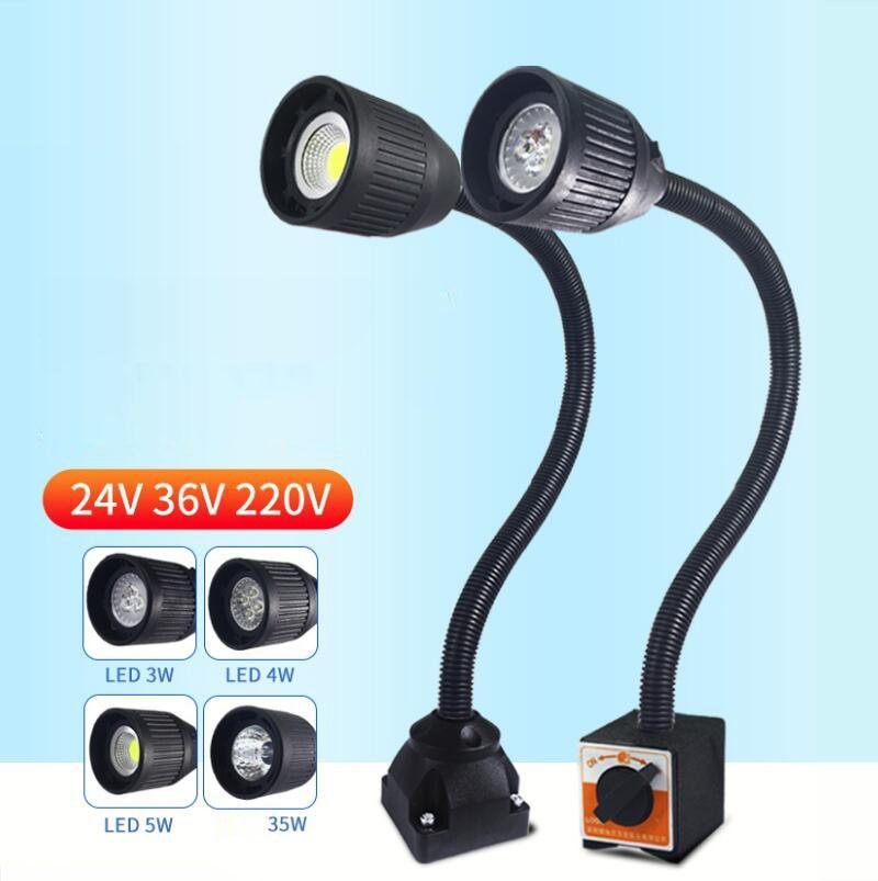LED machine light ,LED industrial lamp,led work light , Machine tool lamp Strong magnetic light freeshipping