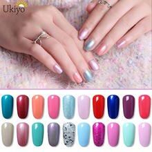Ukiyo 15ml UV Gel Nail Polish Semi Permanent Gel Nail Varnish Gelpolish Glitter Nail Polish For Nail