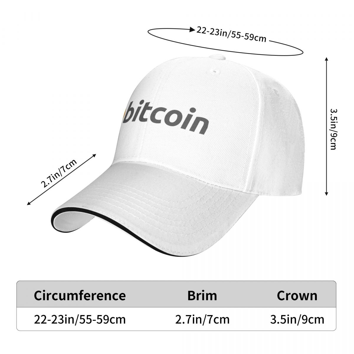 Крипто-валюта биткоина Бейсболка Eth, новинка от солнца, мужские женские и мужские кепки
