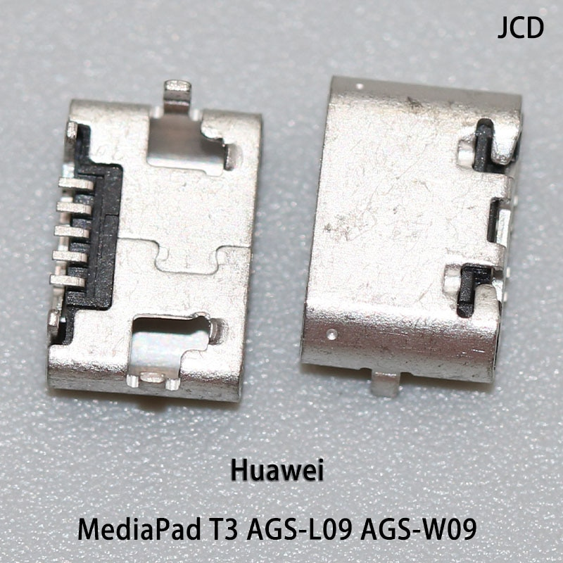 5pcs For Huawei MediaPad T3 AGS-L09 AGS-W09 Tablet pc micro USB jack charging port,data port Tail plug connector