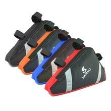 방수 삼각형 사이클링 프론트 팩, 산악 자전거 MTB 자전거 액세서리, 도로 사이클링 탑 가방에 대한 장비를 타고