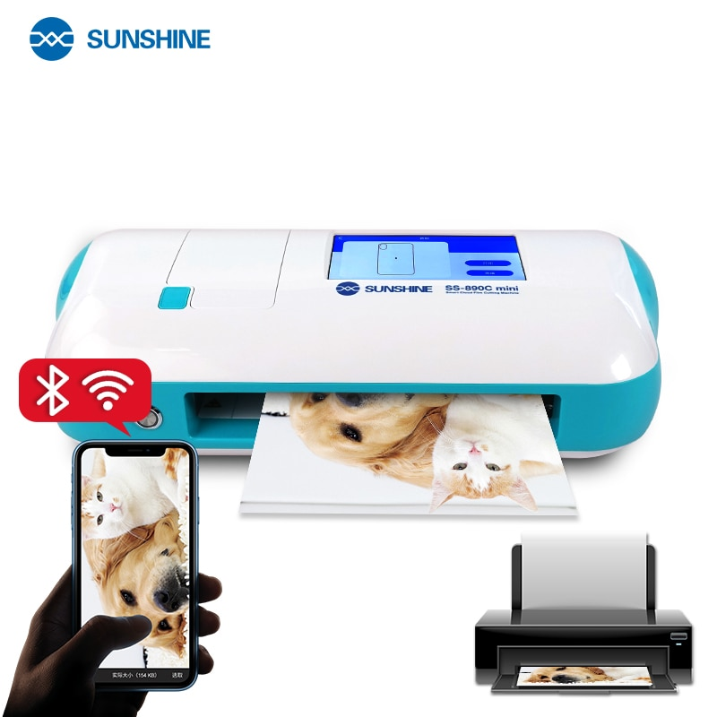 SUNSHINE SS-890C MINI DIY Smart Cutting Machine for Cutting of Under 11 Inches Model With Bluetooth-compatible and WIFI Mode