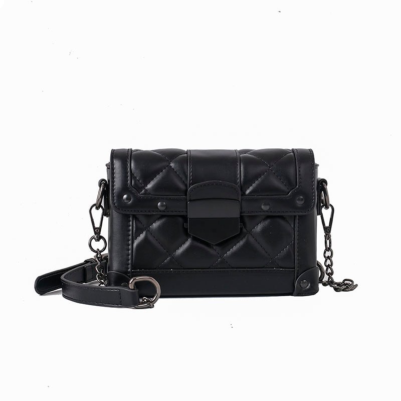iVog New Arrival Everyday Female Small Shoulder Crossbody Fashion Handbag Black White Hand Bags for Women 2020