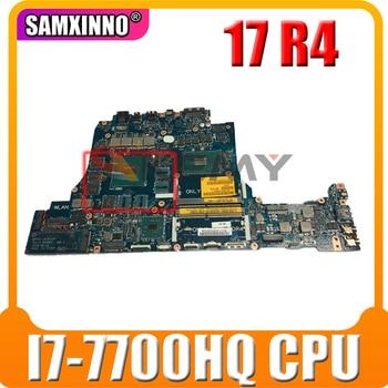 FOR Dell FOR Alienware 17 R4 Motherboard LA-D751P CN-087H1V 087H1V 87H1V SR32Q I7-7700HQ N17P-G1-B-KC-A1 100% working
