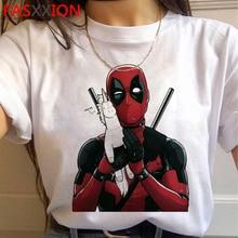 Deadpool Funny Cartoon Graphic T-shirt Men Kawaii Anime Unisex T Shirt Cute Streetwear Casual Tshirt Hip Hop 90s Top Tees Male